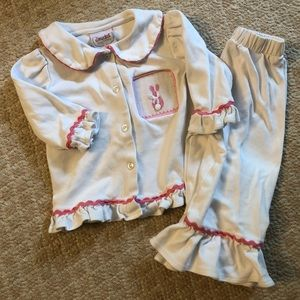 Other - Smocked Auctions 12mo bunny pajamas